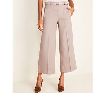 NWT Ann Taylor belted pants